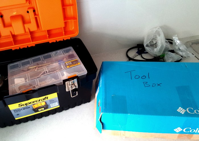 I do like my new toolbox, but I'm not sure there was anything wrong with my old toolbox.