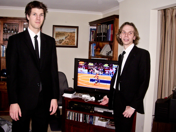 Me, Sam and NBA Jam.