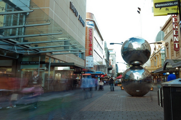 Rundle Mall. Adelaide, SA.